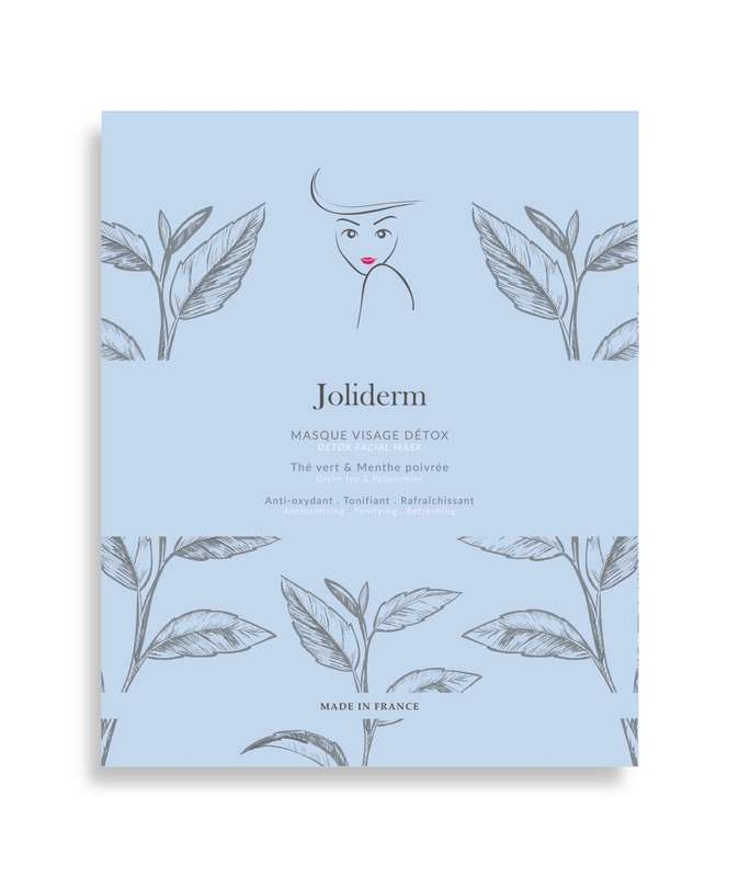 Masque visage détox, Joliderm (x 1)