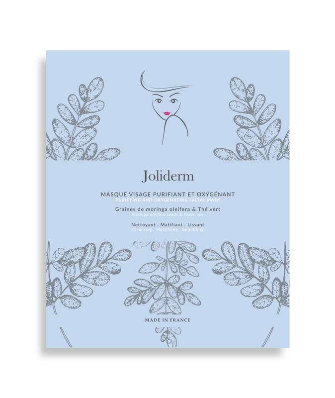 Masque visage purifiant et oxygénant, Joliderm (x 1)