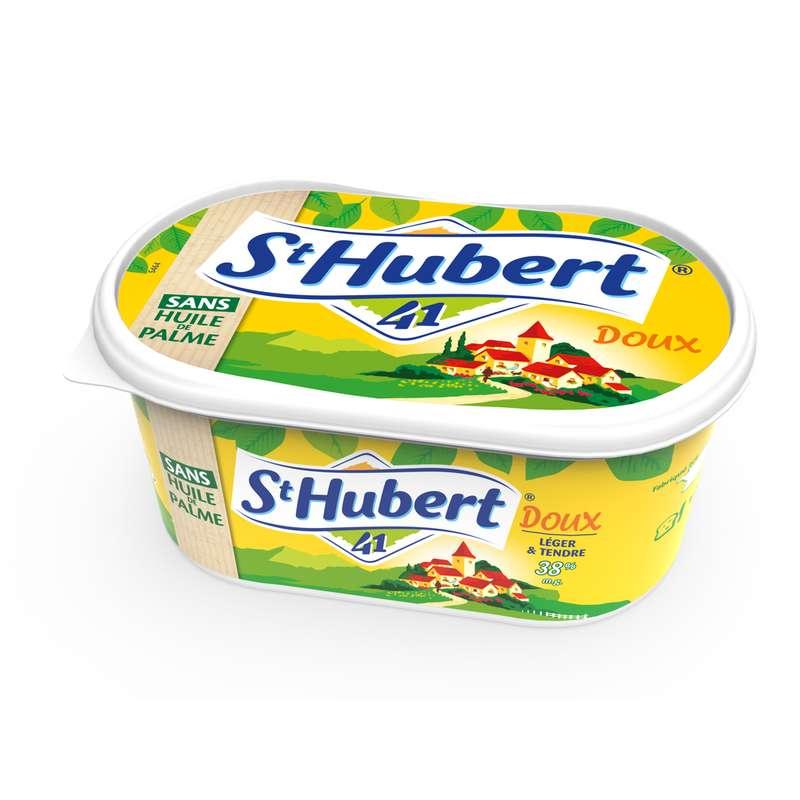 Margarine sans huile de palme doux, Saint Hubert (500 g)