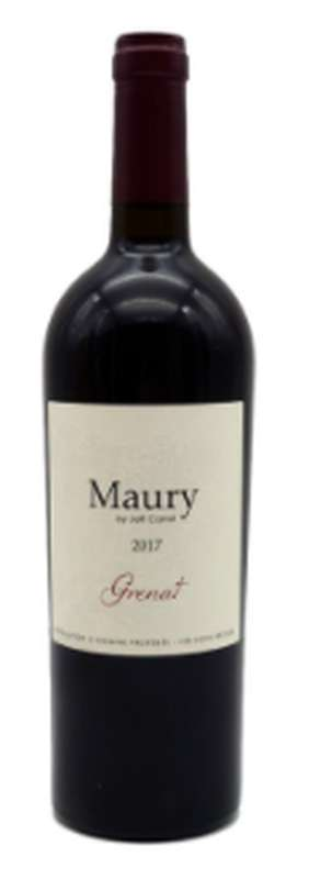 Maury Grenat 2017 - AOP Vin Doux Naturel, Grenache Noir (75 cl)