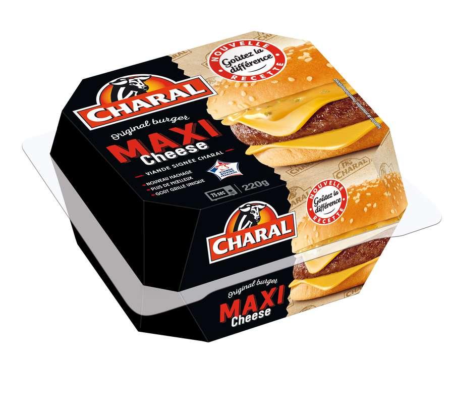Maxi cheeseburger, Charal (220 g)