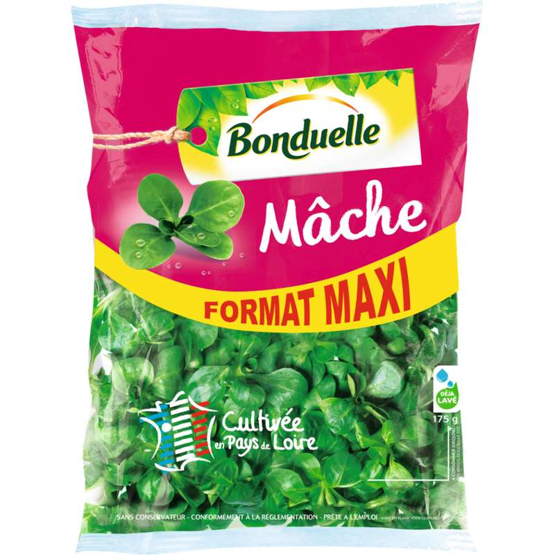 Maxi mâche, Bonduelle (175 g)