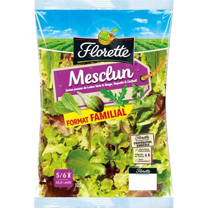 Maxi mesclun, Florette (175 g)