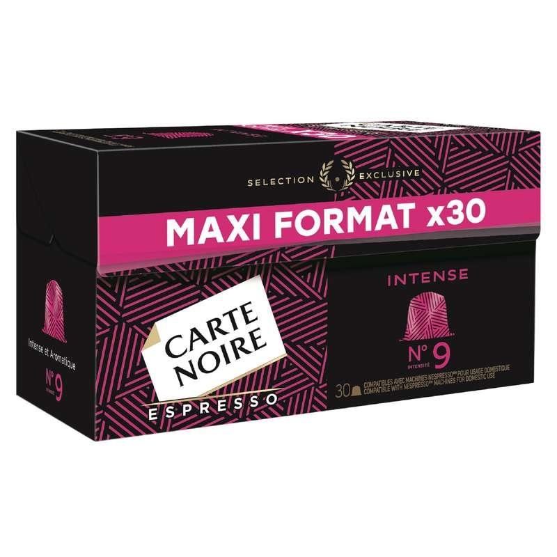 Café capsules Expresso N°9, Carte Noire (x 30)