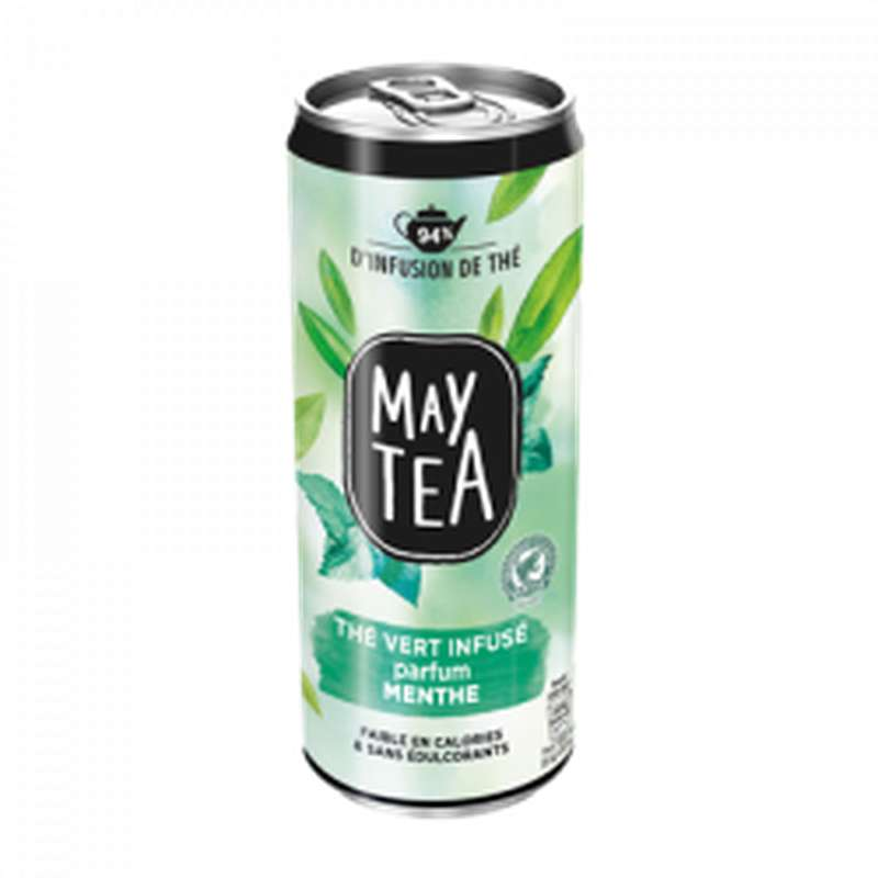 May Tea thé vert parfum menthe (33 cl)