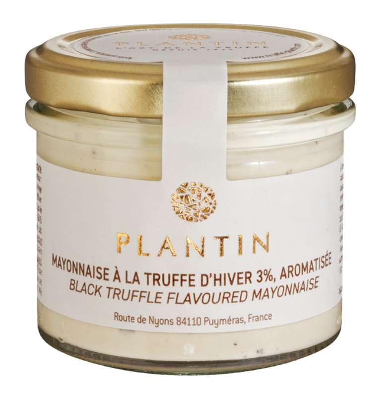 Mayonnaise à la truffe d'hiver 3% aromatisée, Plantin (100 g)