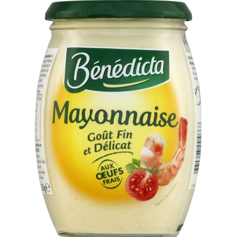 Mayonnaise nature, Benedicta (510 g)
