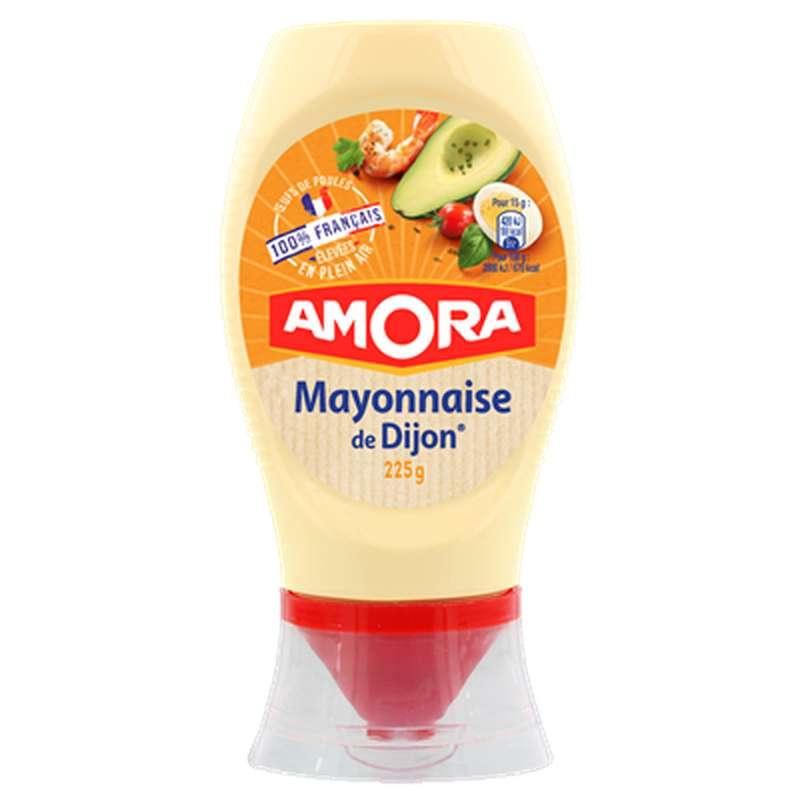 Mayonnaise 100% oeufs français, Amora (225 g)