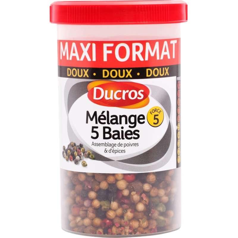 Mélange 5 baies, Ducros (70 g)