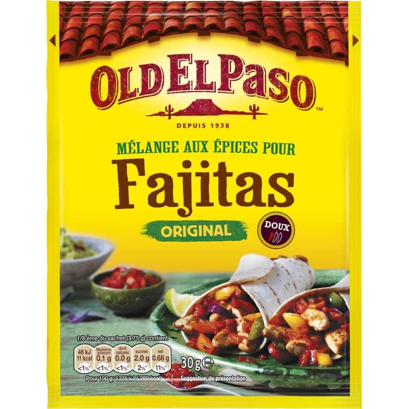 Mélange d'epices pour fajitas, Old el Paso (30 g)