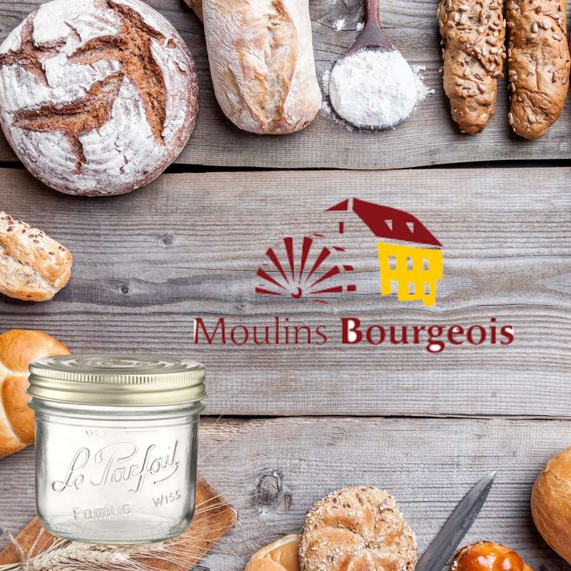 Mélange pour pain Harmonie 5 graines BIO bocal consigné / 2,5€ récupérable (770 g)