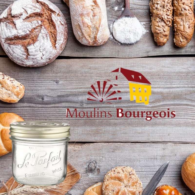 Mélange pour pain intégral BIO bocal consigné / 2,5€ récupérable (850 g)
