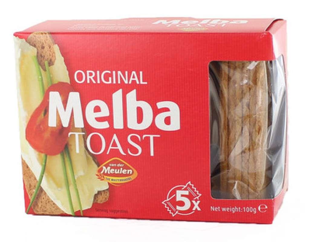 Melba toast, Van Der Meulun - Albert Ménès (100 g)