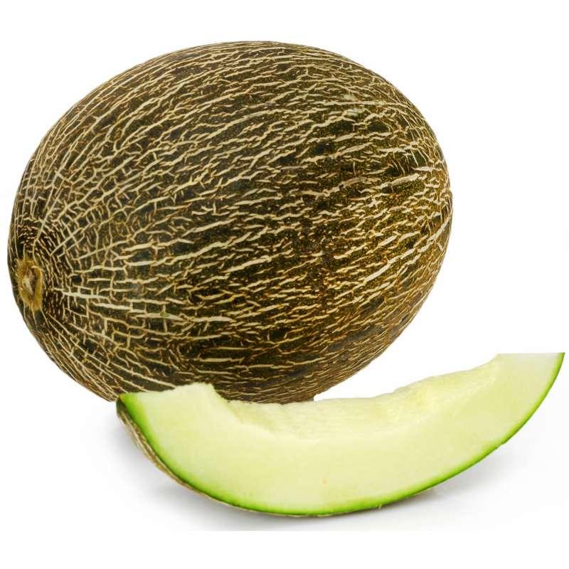 Melon vert Piel de sapo BIO (calibre moyen), Espagne