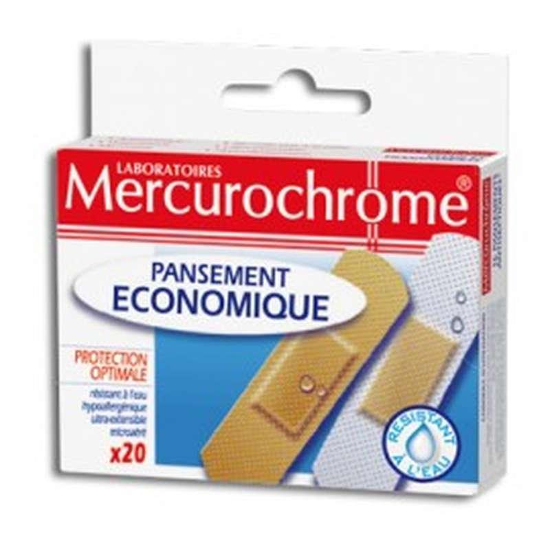 Pansement économique, Mercurochrome (x 20)