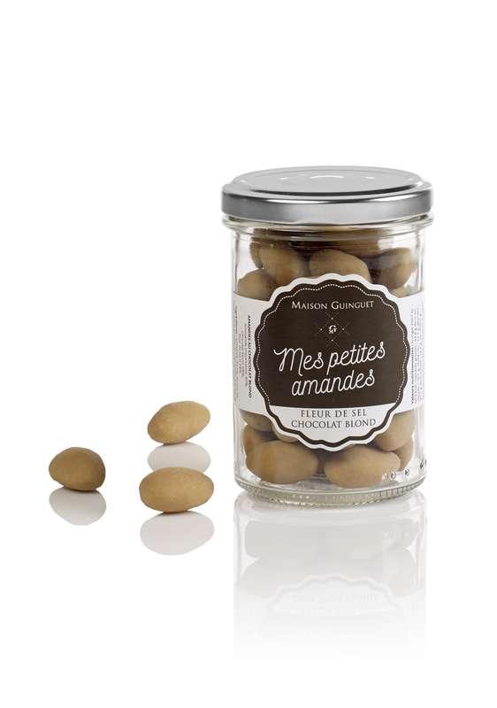 Mes petites amandes fleur de sel chocolat blond, Maison Guinguet (120 g)