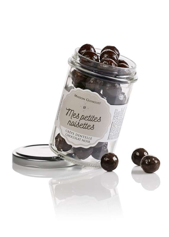 Mes petites noisettes chocolat noir, Maison Guinguet (120 g)