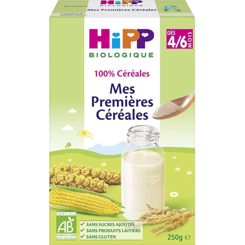 Mes premières céréales BIO - dès 4/6 mois, Hipp (250 g)