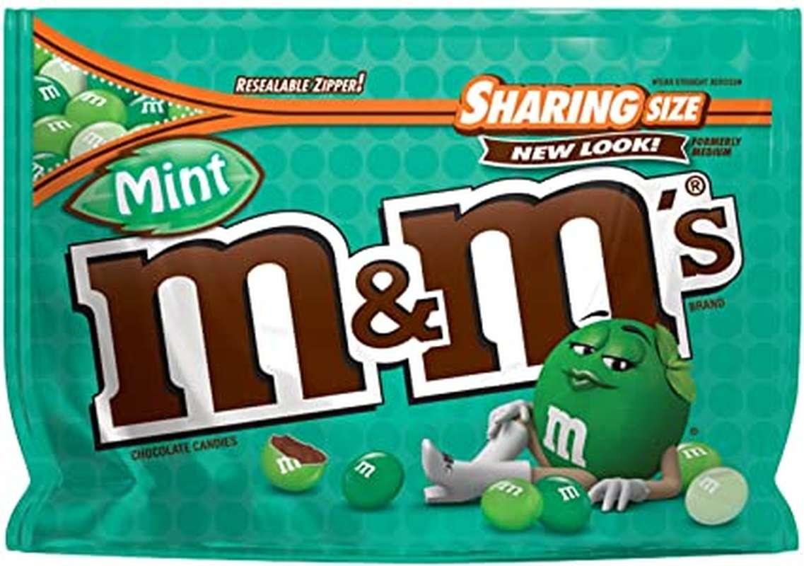 M&M's mint (272,2 g)