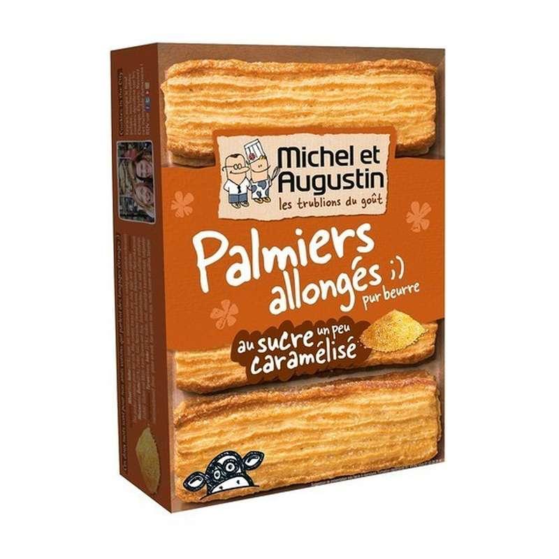 Palmiers allongés au sucre un peu caramélisé, Michel et Augustin (120 g)