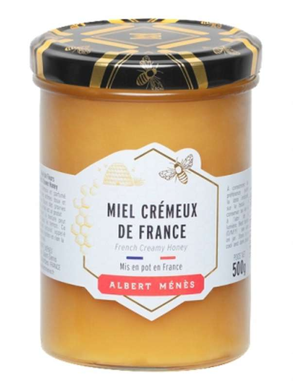 Miel crémeux de France, Albert Ménès (500 g)