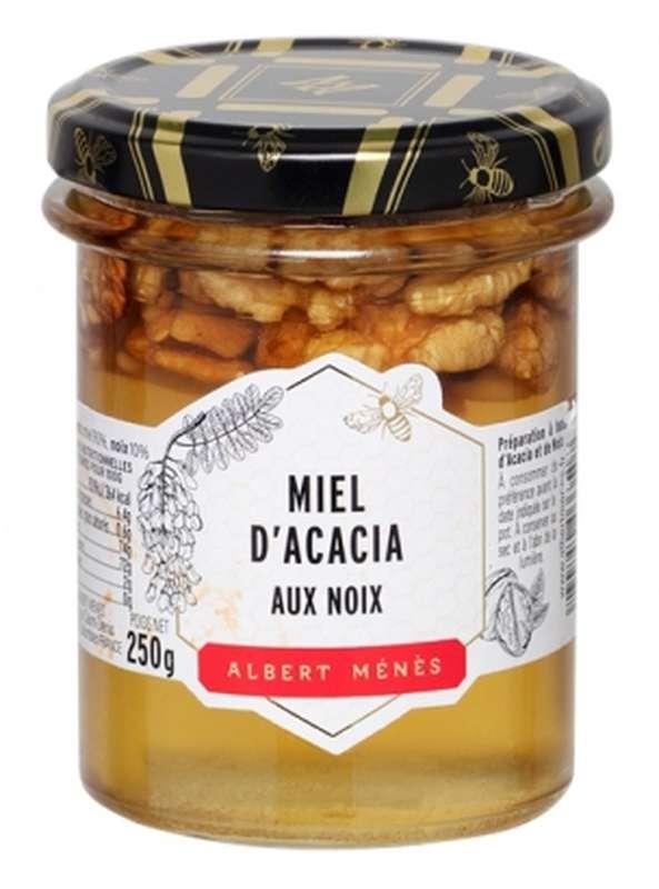 Miel d'Acacia aux noix, Albert Ménès (250 g)