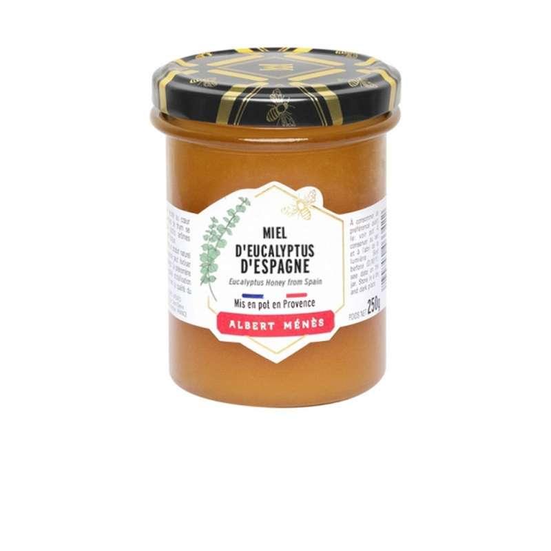 Miel d'eucalyptus d'Espagne, Albert Ménès (250 g)