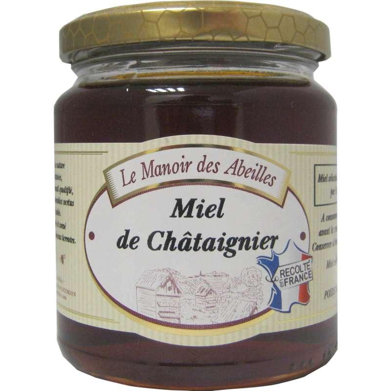 Miel de châtaignier de France, Le manoir des abeilles (250 g)