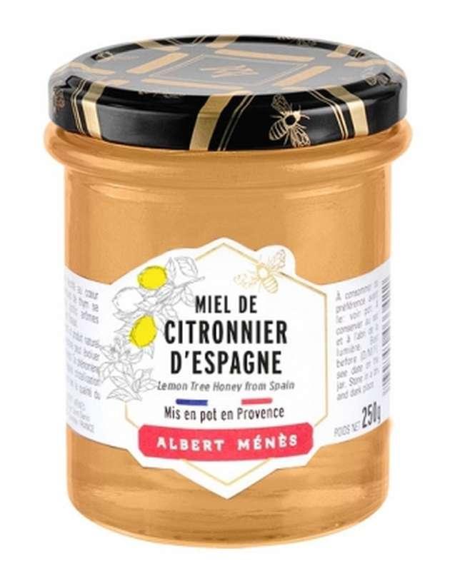 Miel de Citronnier d'Espagne, Albert Ménès (250 g)