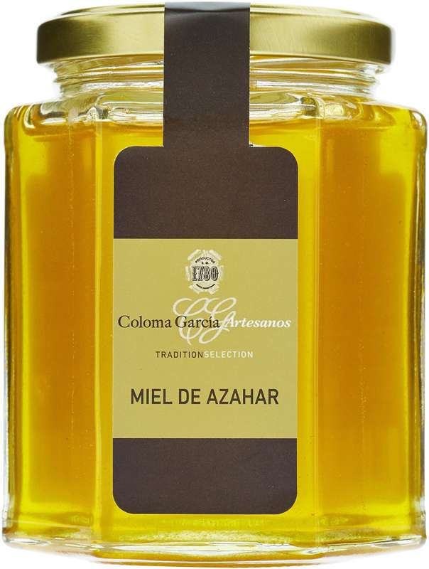 Miel de fleur d'oranger, Coloma Garcia (350 g)