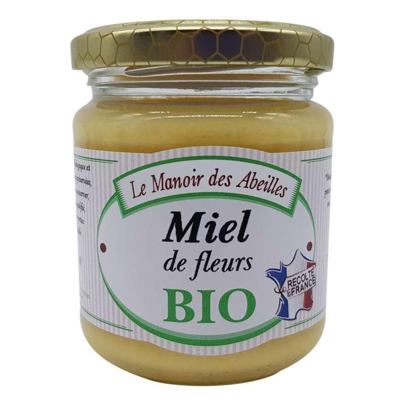Miel de fleurs de France BIO, Le Manoir des Abeilles (250 g)