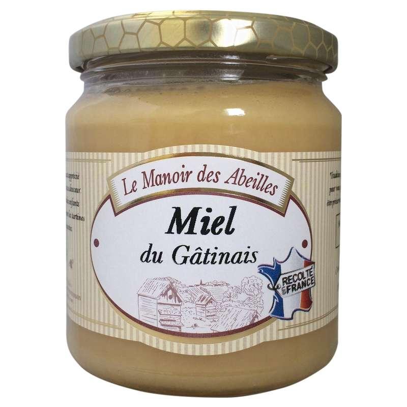 Miel de fleurs du Gatinais, Le manoir des abeilles (350 g)
