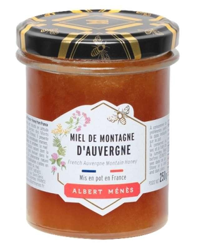 Miel de Montagne d'Auvergne, Albert Ménès (250 g)