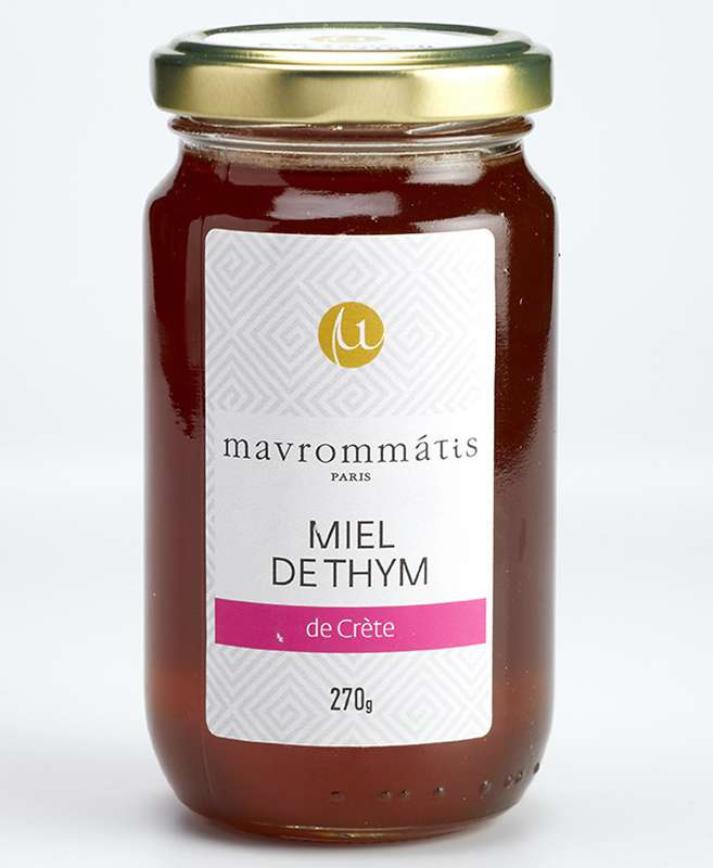 Miel de thym de Crète, Mavrommatis (270 g)