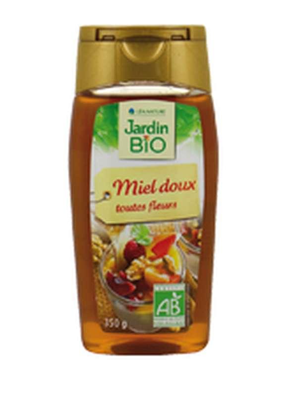 Miel doux toutes fleurs BIO, Jardin Bio (350 g)