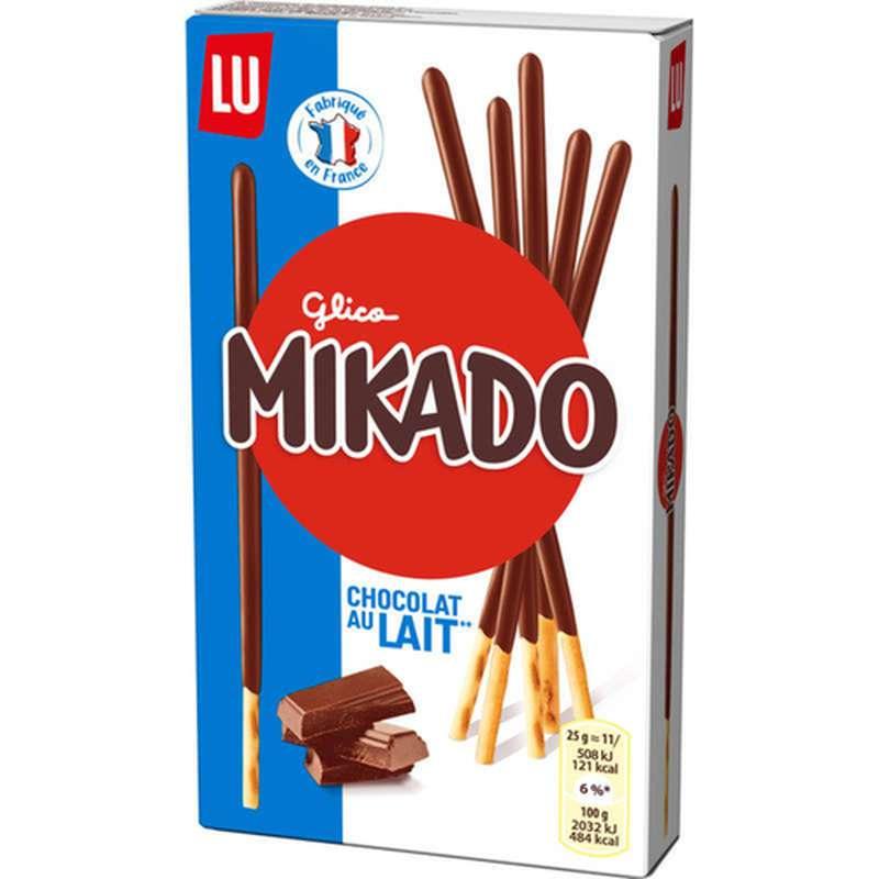 Mikado Chocolat au lait, Lu (90 g)
