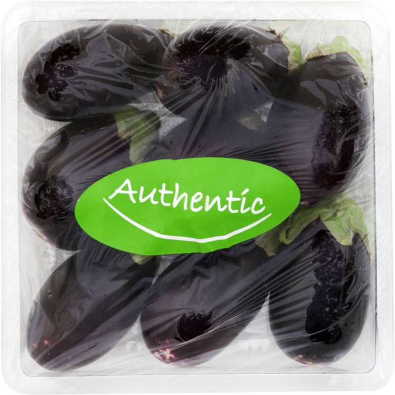Mini aubergine (barquette 200 g)