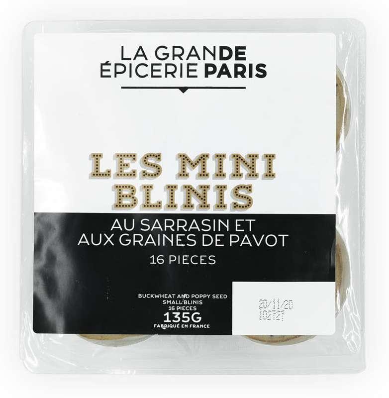 Mini Blinis au sarrasin, La Grande Epicerie de Paris (x 16, 135 g)