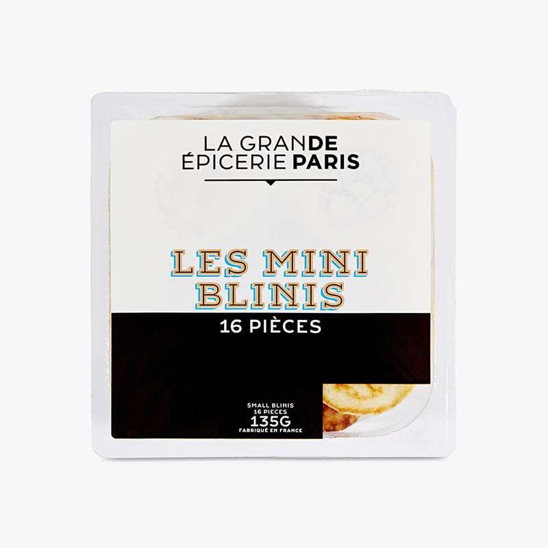 Mini Blinis nature, La Grande Epicerie de Paris (x 16, 135 g)