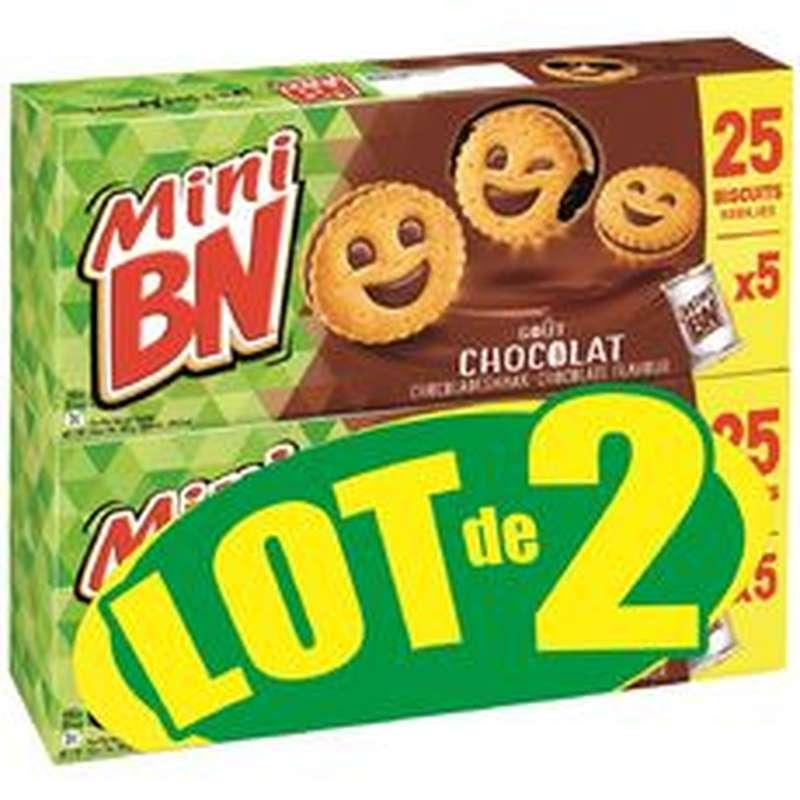 Mini BN au chocolat LOT DE 2 (2 x 175 g)