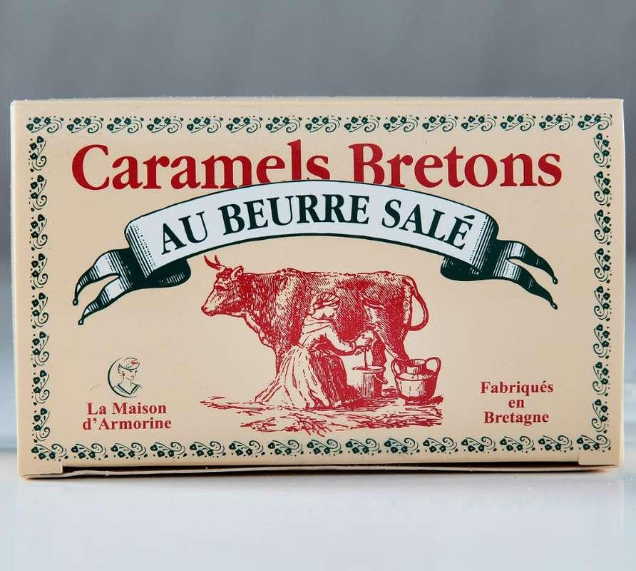 Mini boîte de caramels bretons, La Maison d'Armorine (50 g)