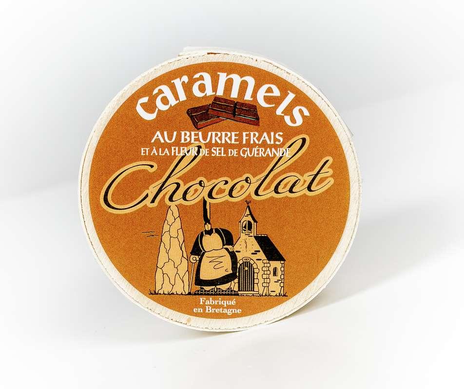 "Mini boîte ""Mam Goudig"" caramels chocolat, La Maison d'Armorine (50 g)"