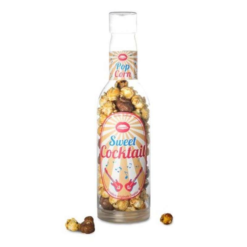 Mini-bouteille Popcorn caramel et chocolat , Sophie M (190 g)