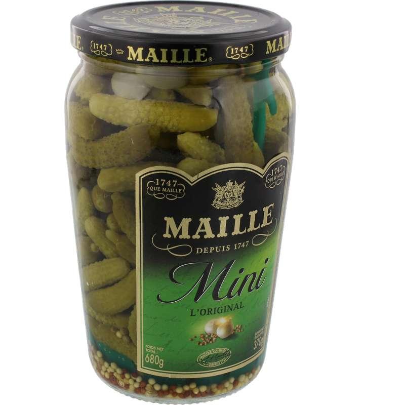 Mini cornichons, Maille (370 g)