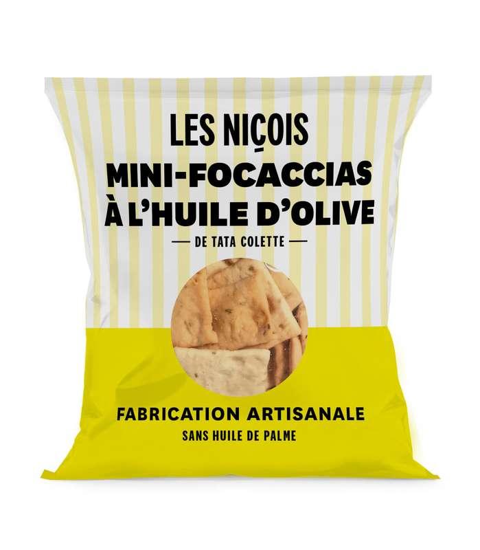 Mini-focaccias à l'huile d'olive de Tata Colette, Les Niçois (35 g)
