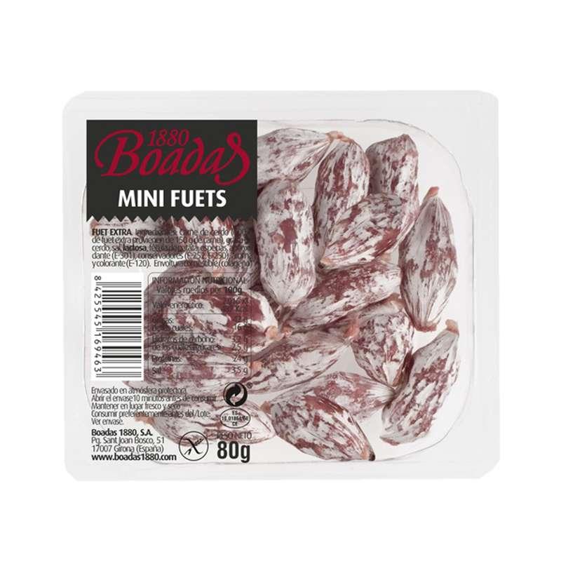 Mini fuets extra, Boadas (80 g)