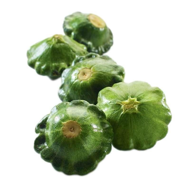 Mini patisson vert (barquette 200 g), Afrique du Sud