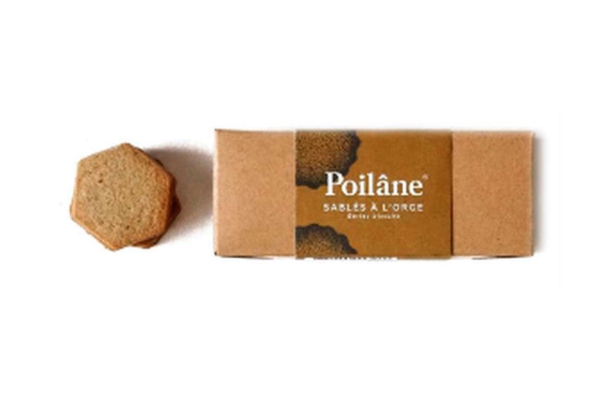 Mini-réglette sablés orge, Poilâne (110 g)