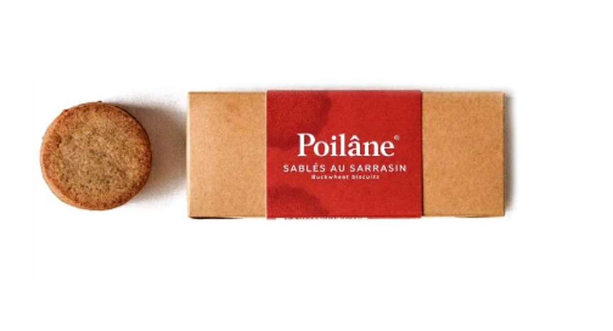 Mini-réglette sablés sarrasin, Poilâne (130 g)