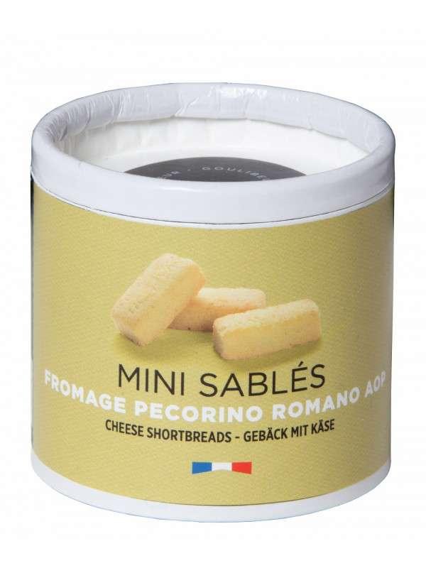 Mini sablés salés fromage pecorino, Goulibeur (35 g)